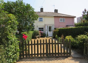 Thumbnail 2 bed terraced house for sale in Rougham Road, Bradfield St. George, Bury St. Edmunds