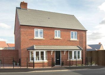 "Thumbnail 4 bed detached house for sale in ""The Halford - Showhome Sale & Leaseback"" at Kiln Lane, Leigh Sinton, Malvern"
