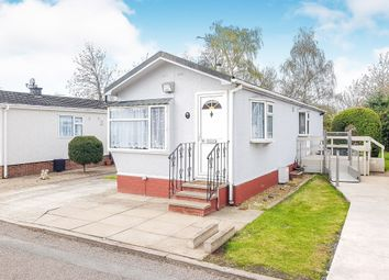 Thumbnail 2 bedroom mobile/park home for sale in New Green Park, Wyken Croft, Coventry