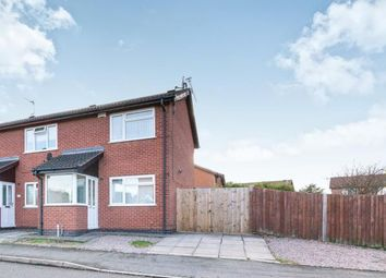 Thumbnail 2 bed end terrace house for sale in Sedgefield Drive, Syston, Leicester, Leicestershire