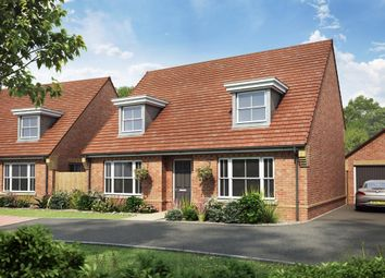 "Thumbnail 4 bed bungalow for sale in ""Warbington"" at Chalton Lane, Clanfield, Waterlooville"