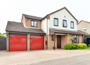 Thumbnail 4 bed detached house for sale in Pyghtle Way, Northampton