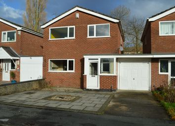Thumbnail 4 bed detached house for sale in Withypool Drive, Stockport