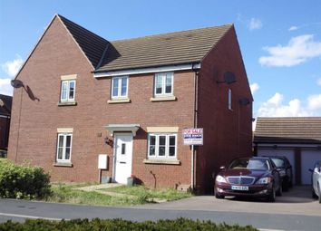 Thumbnail 3 bed semi-detached house for sale in Wharfside Close, Hempsted, Gloucester