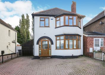 Thumbnail 3 bed detached house for sale in Lodge Road, Wolverhampton, West Midlands