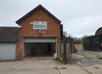 Thumbnail Light industrial to let in Unit 4, Yew Tree Farm, Newcastle Road, Betchton, Sandbach, Cheshire