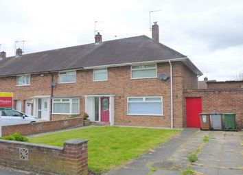 Thumbnail 3 bed end terrace house to rent in Kingsley Avenue, Eastham, Wirral