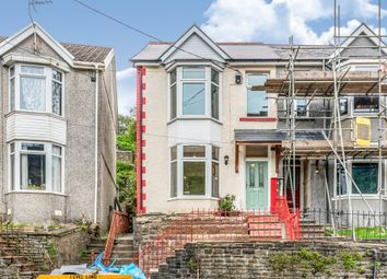 Thumbnail 4 bed semi-detached house for sale in King Edward Street, Blaengarw, Bridgend