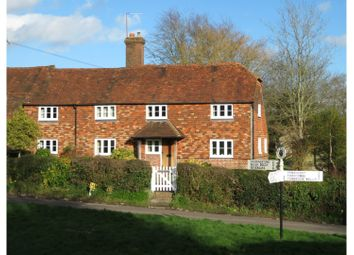 3 bed semi-detached house for sale in Chiddingstone Hoath, Edenbridge TN8