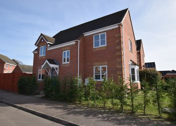 Thumbnail 4 bed detached house for sale in Brabazon Close, Bedford, Bedfordshire