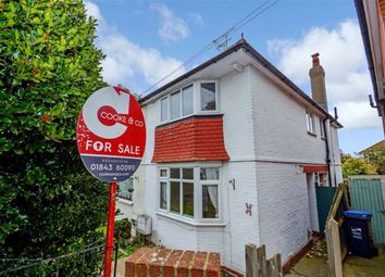 Thumbnail 3 bed semi-detached house for sale in Belmont Road, Broadstairs, Kent