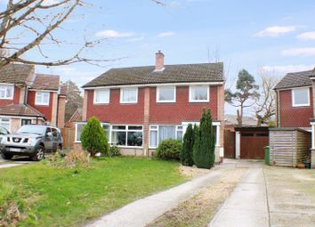 Thumbnail 3 bed semi-detached house for sale in Woodthorpe Gardens, Sarisbury Green, Southampton