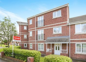 Thumbnail 2 bed flat for sale in Patshull Avenue, Fordhouses, Wolverhampton