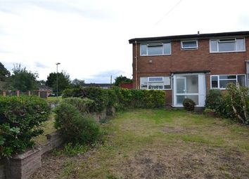 Thumbnail 3 bed end terrace house to rent in Earlswood Court, Handsworth Wood, Birmingham