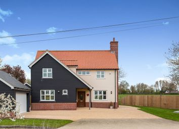 Thumbnail 4 bed detached house for sale in Walsham Road, Finningham, Stowmarket