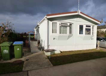 Thumbnail 2 bed mobile/park home for sale in The Willows, Ford Road, Arundel