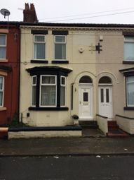 Thumbnail 3 bed terraced house to rent in Peter Road, Liverpool