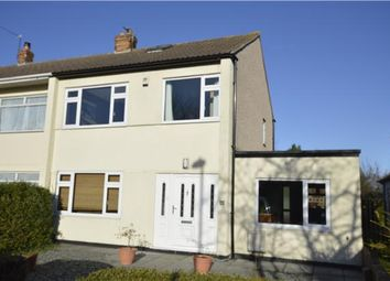 Thumbnail 4 bed end terrace house for sale in Colston Close, Winterbourne Down, Bristol