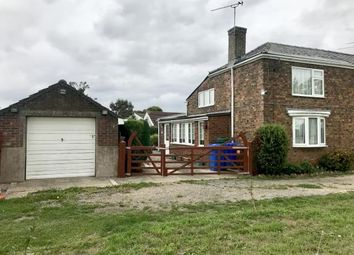 Thumbnail 2 bed semi-detached house for sale in School Lane, Old Leake, Boston, Lincolnshire