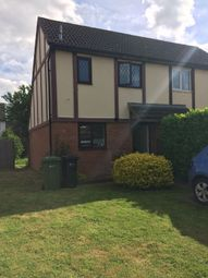 Thumbnail 1 bed end terrace house to rent in Thomas Close, Hereford
