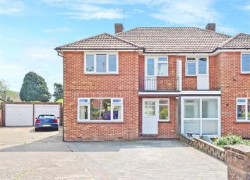 Thumbnail 3 bed semi-detached house for sale in Rogate Close, Worthing, West Sussex