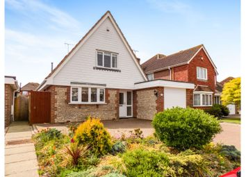 Thumbnail 3 bed detached house for sale in Chatsworth Drive, Rustington
