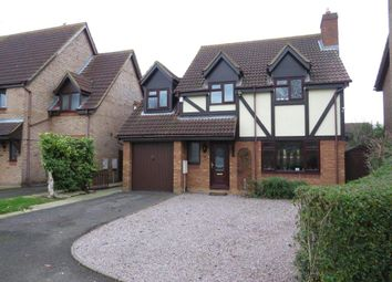 Thumbnail 4 bedroom detached house for sale in West End, Yaxley, Peterborough