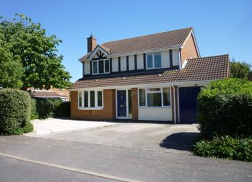 Thumbnail 4 bedroom detached house to rent in Stukeley Meadows, Huntingdon, Cambridgeshire