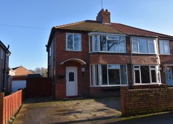 Thumbnail 3 bed semi-detached house for sale in Maudon Grove, Norton, Malton