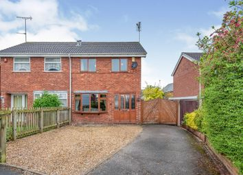 3 bed semi-detached house for sale in Stanley Crescent, Uttoxeter ST14