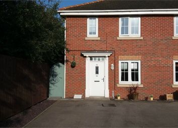 Thumbnail 3 bed end terrace house to rent in Roundhouse Crescent, Worksop, Nottinghamshire