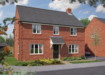 "Thumbnail 5 bed detached house for sale in ""The Ansell"" at North End Road, Steeple Claydon, Buckingham"