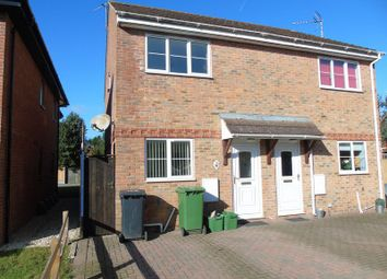 Thumbnail 2 bed semi-detached house to rent in The Bevers, Mortimer Common, Reading
