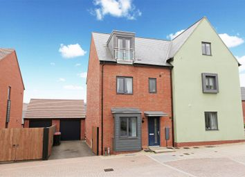 Thumbnail 4 bedroom semi-detached house for sale in Newdale Halt, Lawley Village, Telford