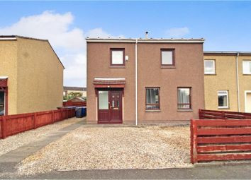 Thumbnail 3 bedroom end terrace house for sale in Strathmore Drive, Stirling