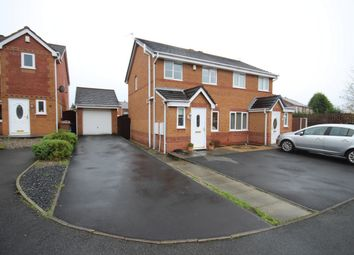 Thumbnail 3 bed semi-detached house for sale in The Hedgerows, Haydock, St Helens