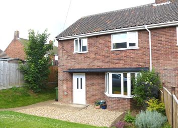 Thumbnail 3 bed semi-detached house for sale in Chiltern Crescent, Hunstanton