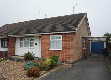 Thumbnail 2 bed semi-detached bungalow for sale in Parklands Avenue, Groby, Leicester