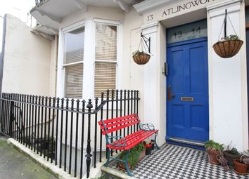 Thumbnail 1 bed flat for sale in Atlingworth Street, Brighton