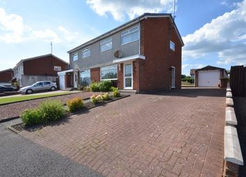 Thumbnail 3 bed semi-detached house for sale in Arrothill Drive, Kilmarnock