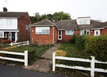 Thumbnail 3 bedroom semi-detached bungalow to rent in Weymead Close, Chertsey
