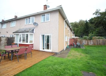 Thumbnail 4 bed terraced house for sale in St. Brides Close, Llanyravon, Cwmbran
