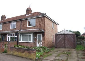 Thumbnail 2 bed semi-detached house for sale in Mile Cross Road, Norwich