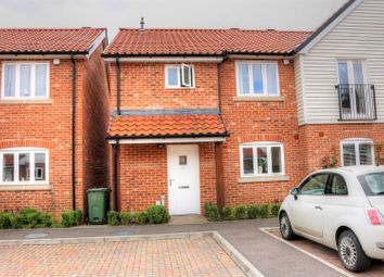 Thumbnail 3 bed semi-detached house for sale in Waterside Drive, Ditchingham