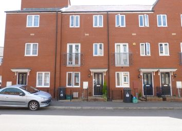 Thumbnail 4 bed town house to rent in Longhorn Avenue, Gloucester