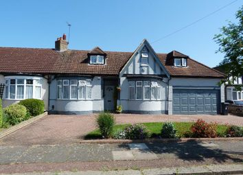 Thumbnail 4 bed detached bungalow for sale in Manorway, Enfield