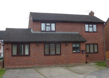 Thumbnail 4 bed detached house for sale in Withybrook Close, Lower Bullingham, Hereford