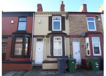 Thumbnail 2 bedroom terraced house to rent in Yelverton Road, Tranmere