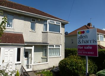 Thumbnail 3 bed semi-detached house for sale in Charles Road, Filton, Bristol