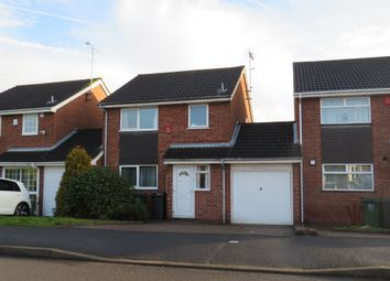 Thumbnail 3 bed detached house for sale in Yew Tree Road, Hatton, Derby